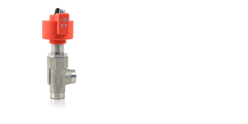 CAREL E3V electronic expansion valves for cooling capacities up to 180kW